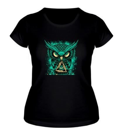 Женская футболка Сова