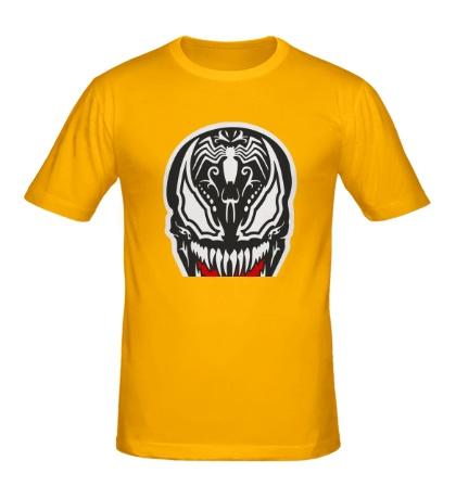 Мужская футболка Venom mask