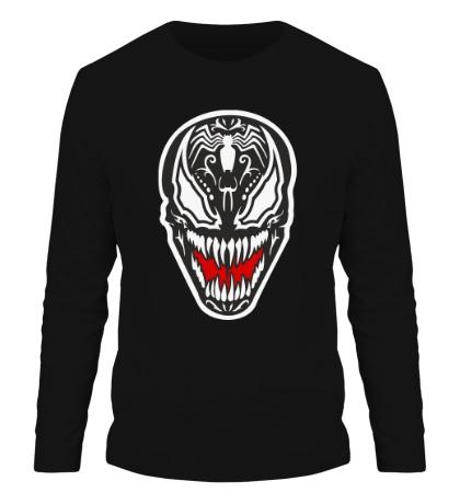 Мужской лонгслив Venom mask