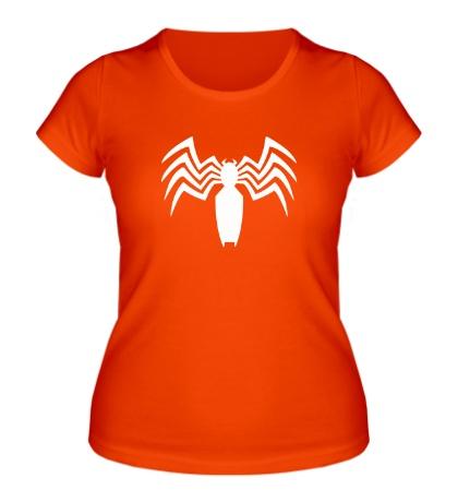 Женская футболка Venom logo