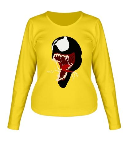 Женский лонгслив Venom