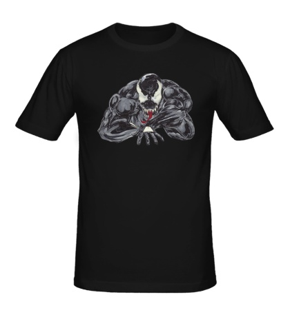 Мужская футболка Venom art