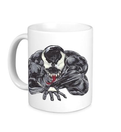 Керамическая кружка Venom art