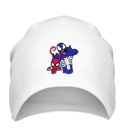 Шапка Venom and Spider-man