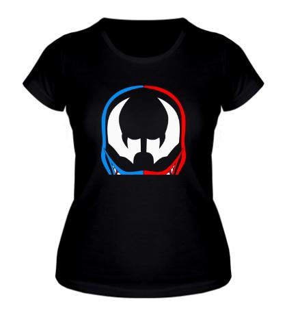 Женская футболка Веном