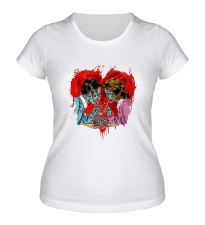 Женская футболка Love Never Dies