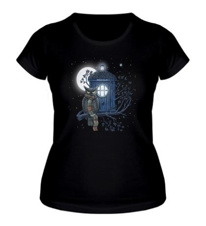 Женская футболка Dr. Hoot