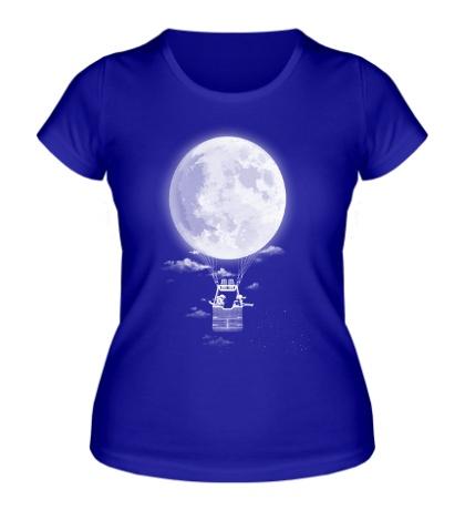 Женская футболка Around the World in 30 Nights
