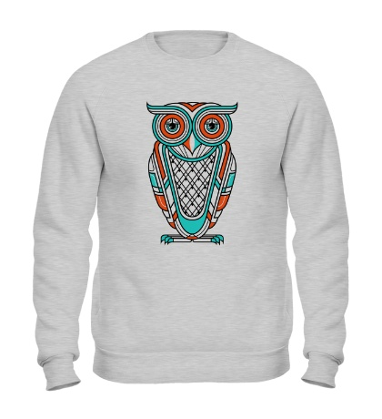 Свитшот Art Deco Owl Diurnal