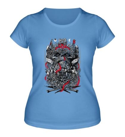 Женская футболка Sed de Sangre