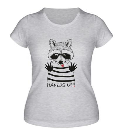 Женская футболка Руки вверх!