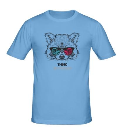 Мужская футболка Думай по другому!