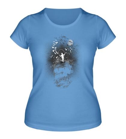 Женская футболка Morbid Curiosity