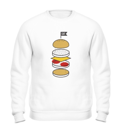 Свитшот Разбор бургера