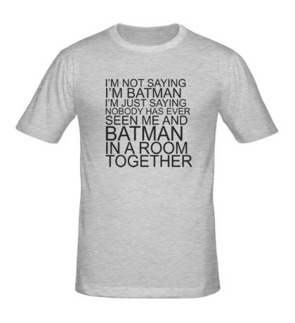 Мужская футболка Im batman