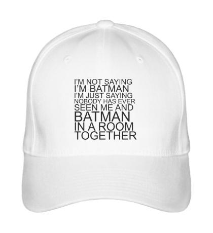 Бейсболка Im batman
