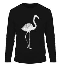 Мужской лонгслив Фламинго