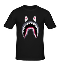 Мужская футболка Напуганный монстр