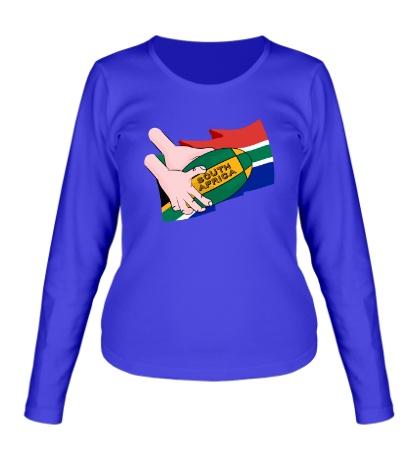 Женский лонгслив South Africa Rugby