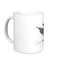 Керамическая кружка Birds