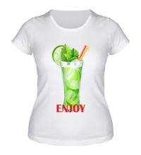 Женская футболка Enjoy