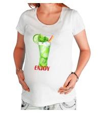 Футболка для беременной Enjoy