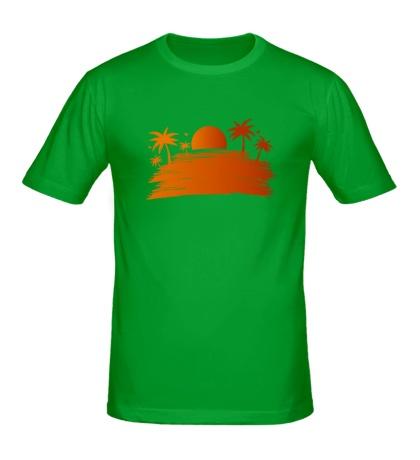 Мужская футболка «Sunsummer»