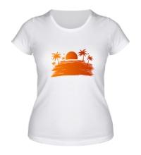 Женская футболка Sunsummer