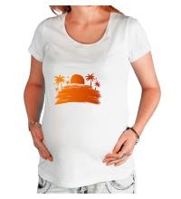 Футболка для беременной Sunsummer