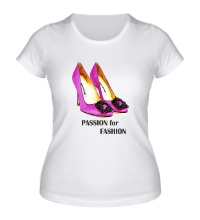 Женская футболка Shoes