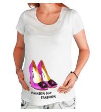 Футболка для беременной Shoes