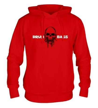 Толстовка с капюшоном Drum & Bass Dead
