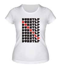 Женская футболка Many Dubstep