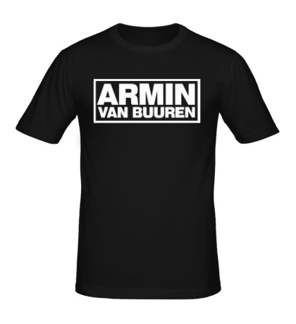 Мужская футболка Armin van Buuren Logo