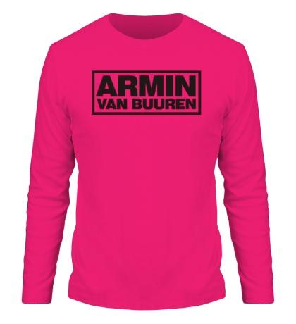 Мужской лонгслив Armin van Buuren Logo