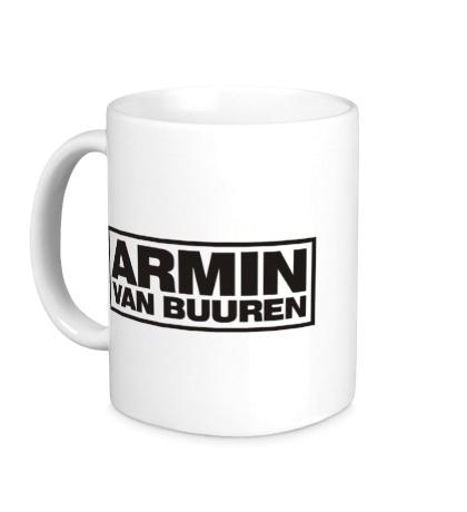 Керамическая кружка Armin van Buuren Logo