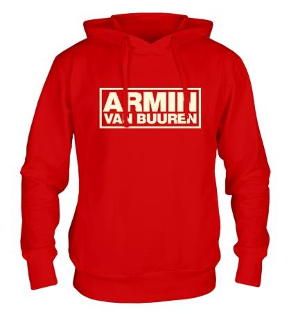Толстовка с капюшоном Armin van Buuren Logo Glow