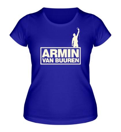 Женская футболка ARMIN van Buuren Glow
