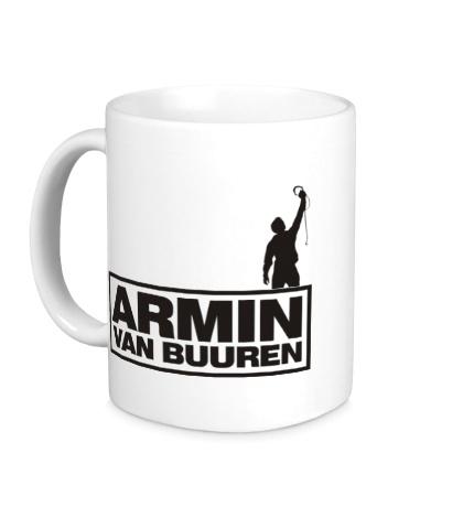 Керамическая кружка Armin van Buuren