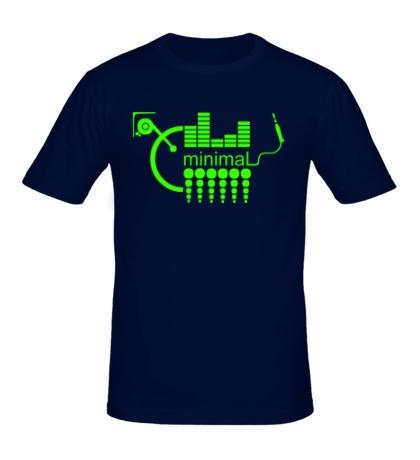 Мужская футболка Minimal Equalizer Glow