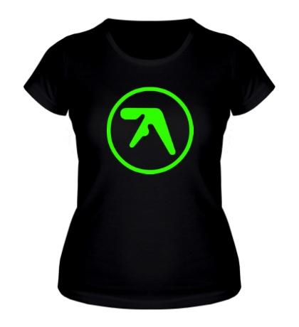 Женская футболка Aphex Twin Glow