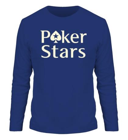 Мужской лонгслив Poker Stars Glow