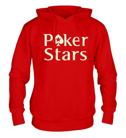 Толстовка с капюшоном Poker Stars Glow