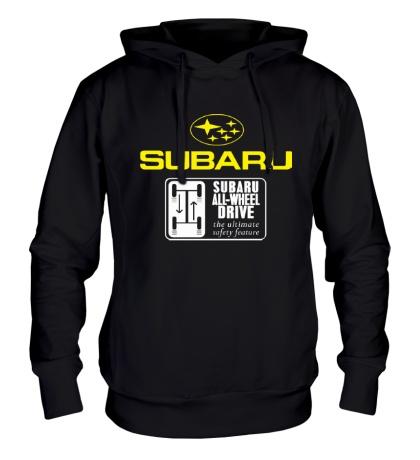 Толстовка с капюшоном Subaru Wheel Drive