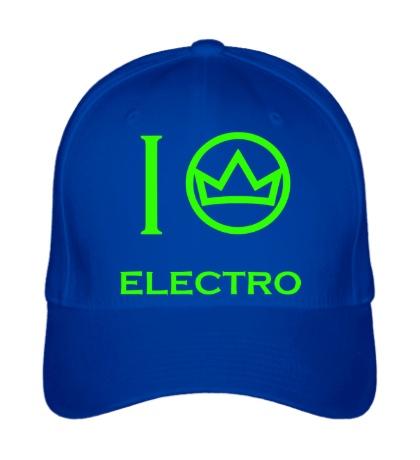 Бейсболка Electro King Glow