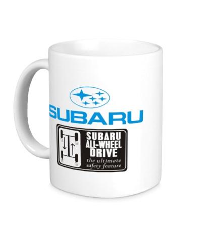 Керамическая кружка Subaru Wheel Drive