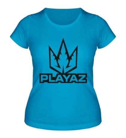Женская футболка Playaz