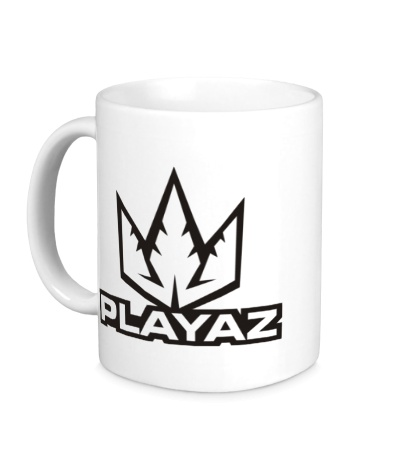 Керамическая кружка Playaz