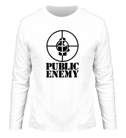 Мужской лонгслив Public Enemy