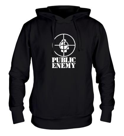 Толстовка с капюшоном Public Enemy
